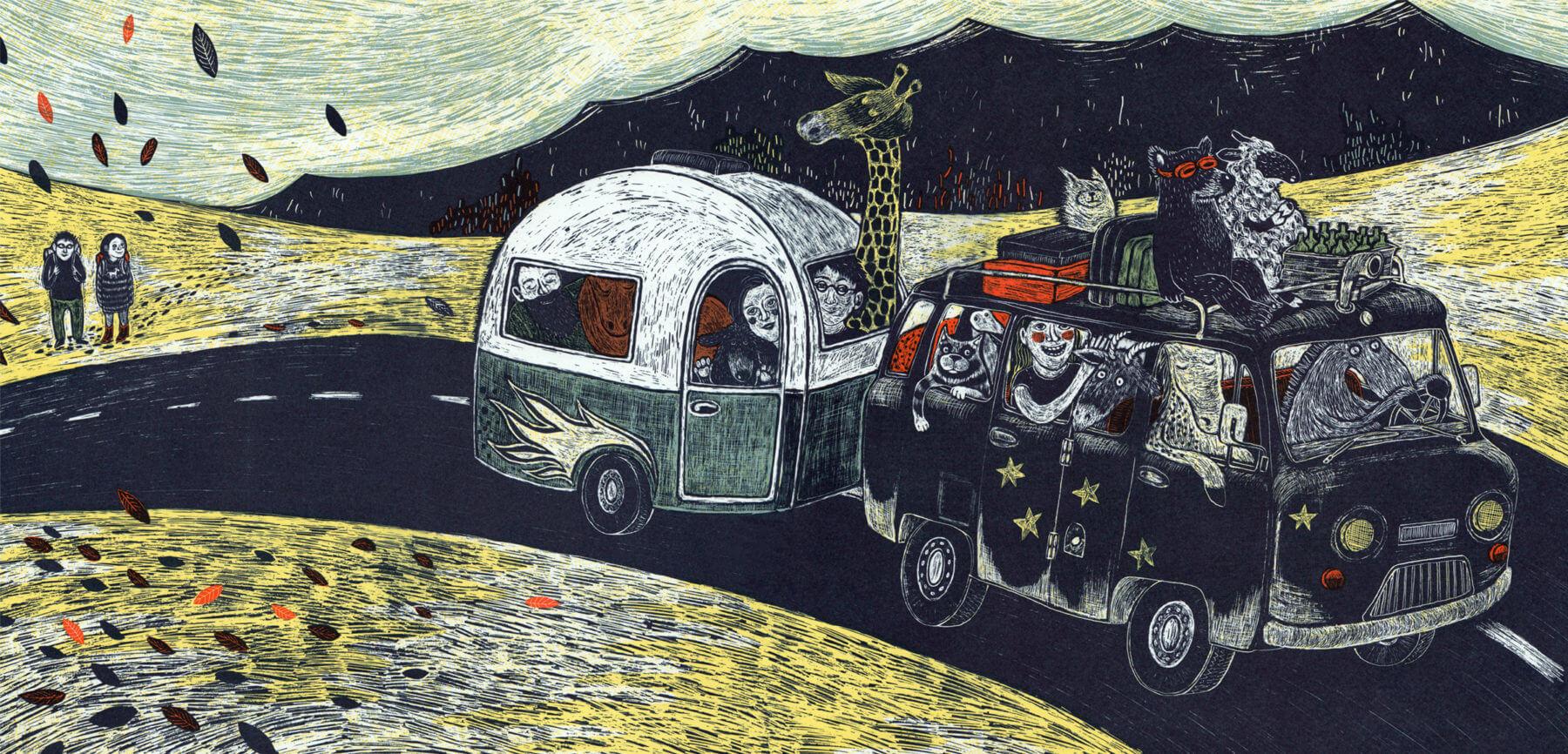 Polka für Igor: Wohnwagen