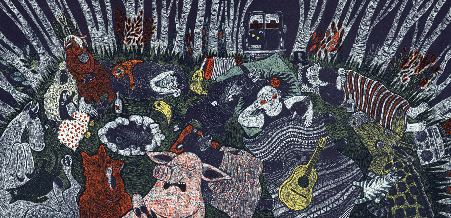 Polka für Igor: Wald